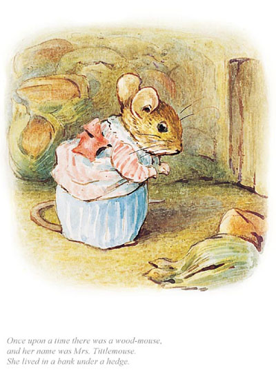 Mrs Tittlemouse - Official Collector's Edition Print