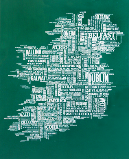 Bold & Noble - Ireland in Green